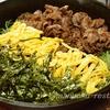 山口県の郷土料理・スキレットで瓦そば(かわらそば)