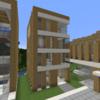 【Minecraft】小さなホテルを建てる【コンパクトな街をつくるよ6】