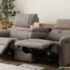 ニトリで3人用電動布張りテーブル付リクライニングソファ(ピュール MO)購入