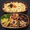 Vol.47-牛肉とレンコンの炒め弁当(\300.-)