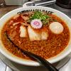 【今週のラーメン4550】 SHIROMARU-BASE (東京・大森) スパイシー中洲ブラック + 煮玉子 + 替玉 〜豚骨と思えば醤油!ブラックと思えばレッド!意外性の旨さ!