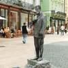 【スロバキア】ドナウ川沿いでランチ・大道芸人が多いブラチスラバの街を散策