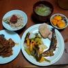 幸運な病のレシピ( 2415 )朝:糠漬け、魚、味噌汁