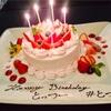 あの「日生横のカフェ」を貸し切って本人不在の誕生日会をしました
