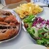 ポルトガルの有名な町で食べるレイタオン