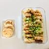 【離乳食後期】鶏ひき肉のハンバーグ(取り分け)