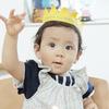 1歳のお誕生日の出張撮影 @家族写真・杉並区【あおぞら写真館 出張撮影】