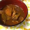 トマトジュースを使った豚汁のような減塩和風トマトスープ