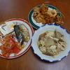 幸運な病のレシピ( 537 )朝:焼南蛮えび、煮しめ、魚干物の仕込み