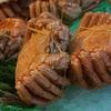 【写真複製・写真修復の専門店】毛蟹 美味しそうに! 色調修正