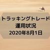 【FX】【トラッキングトレード】運用状況(2020年8月1日時点)