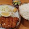 高円寺【とんかつ 二葉】とんかつ定食 ¥800+大盛 ¥100