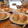 試食のフランスパン