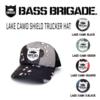 【バスブリゲード】迷彩、LAKE CAMOを使用したキャップ「LAKE CAMO SHIELD TRUCKER HAT」発売!