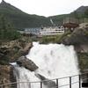 北欧ノルウェイのガイランゲルで宿泊したホテルユニオンの滝