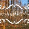 晩秋の森できのこ探索してみた【YouTube動画】