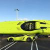 ランボルギーニアヴェンタドールSVをモチーフにしたスピードボート