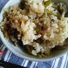 【レシピ】鶏ひき肉とごぼうの炊き込みご飯
