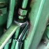 油圧パイプ交換