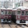 鉄道の日常風景141...阪急宝塚線朝ラッシュ時十三駅20190905
