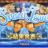 Snow*Loveイベお疲れ様でした!!53か月ぶりの仁奈の報酬SR!よかった...。
