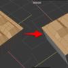 Blender 2.8 でフラットな平面上の頂点や辺を削減する