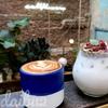 超絶可愛い♡グリーン&お花がいっぱいのインスタ映えするフラワーカフェ「WALL FLOWERS CAFE」@バンコク