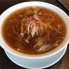 京鼎樓(ジンディンロウ)のフカヒレスープ麺