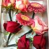 ❁成人式❁〜生花の飾りでヘアセット〜