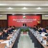 ラオス:新型コロナウイルスの予防対策会議(2020年3月6日)