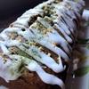 アーモンドプードル入り柚子抹茶パウンドケーキ