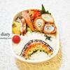 虹弁当/My Homemade Rainbow Lunchbox/ข้าวกล่องเบนโตะที่ทำเอง