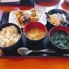 500円のランチの食べ放題の数が多い♪😄「九州居酒屋 博多満月」😃