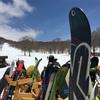 春スキーにハマる