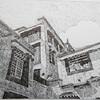 ペン画小話その3・チベットの風景