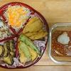 天ぷらを盛ってみた!