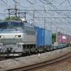 5月19日撮影 東海道線 茅ヶ崎~大磯間 松尾踏切で貨物列車2本撮影 1097ㇾ 2079ㇾ