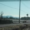 筑波山の冠雪の状況を見に行く