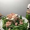 美味い!早い!安い!簡単!健康! 漢の超ズボラ飯 Part.2 「ツナ豆腐水菜サラダ」。