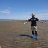 2020.4.11 キャンプ と 潮干狩り 35km