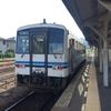 最初で最後の三江線に乗車する