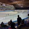 みごとな氷:Mウェーブ@長野