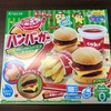 知育菓子で室内遊び【ポッピンクッキン ハンバーガー】