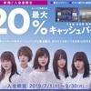 イオンカード新規発行で20%キャッシュバック【成果報告】