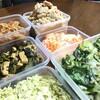 作り置き副菜で料理を時短する