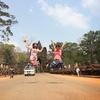 【カンボジア女子一人旅】南大門でJUMP写真!
