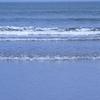ウインターサーフ物語。「乾いた春の海砂を濡らしに小波が寄せる白浜は『春分の日』を前にして今日もひねもすのたりかな」の巻。