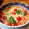 【世界くらべてみたら】4/15 インスタント袋麺アレンジ☆中華風「塩味袋麺のトマト卵麺」