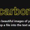 Carbonを使って、プレゼン資料のソースコードをきれいに見せよう