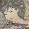 ねり消しを使った髪の毛の塗り方「花迷彩・穂波」美人画ぬりえ